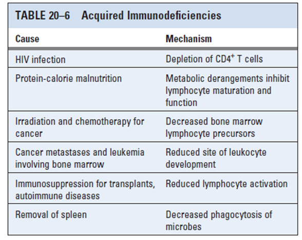 Imunodefisiensi Sekunde